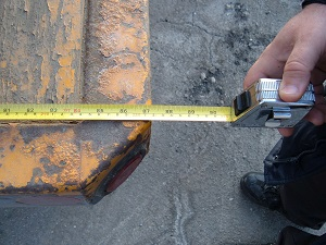 Measuring car accident damage