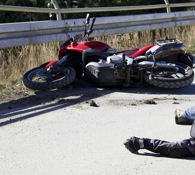 Motorcycle Equipment Accident