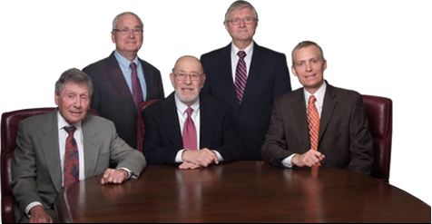 Lawyers Michael I Tarnoff, Victor Harding, Meron N Rotter, Werner A Reis and Frank T Crivello II